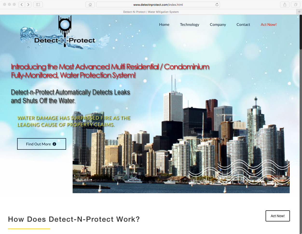 Detect-N-Protect website